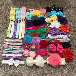 HUGE hair-bow lot!